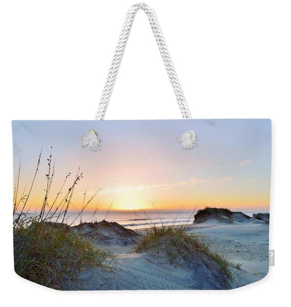 Pea Island Sunrise 12/28/16 Weekender Tote Bag
