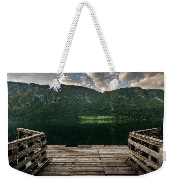 Peace And Clarity Weekender Tote Bag
