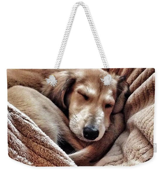 Peace At Last #saluki Weekender Tote Bag