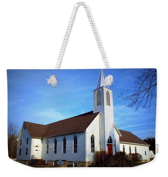 Peace Church Weekender Tote Bag