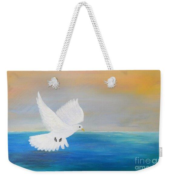 Peace Descending Weekender Tote Bag