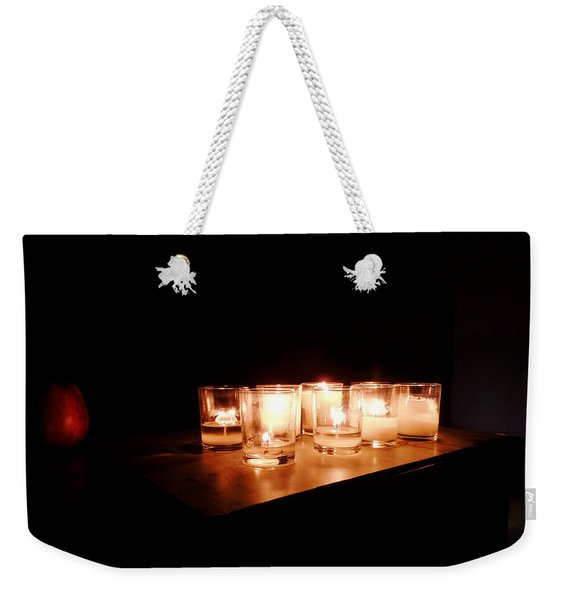 Peace On A Stormy Night Weekender Tote Bag