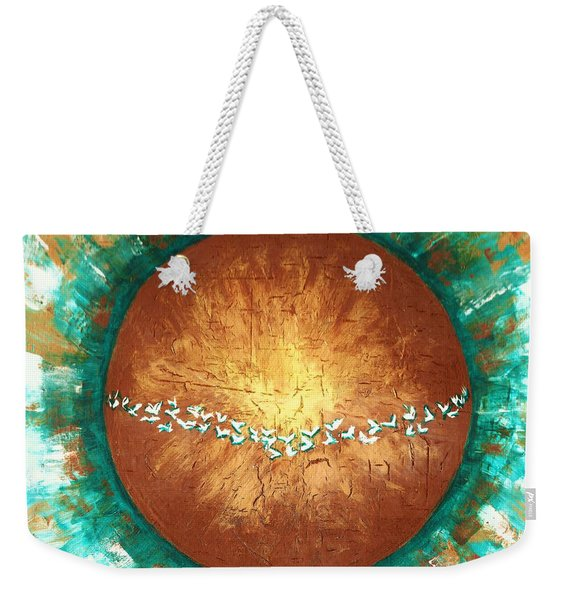 Peace On Earth  Weekender Tote Bag