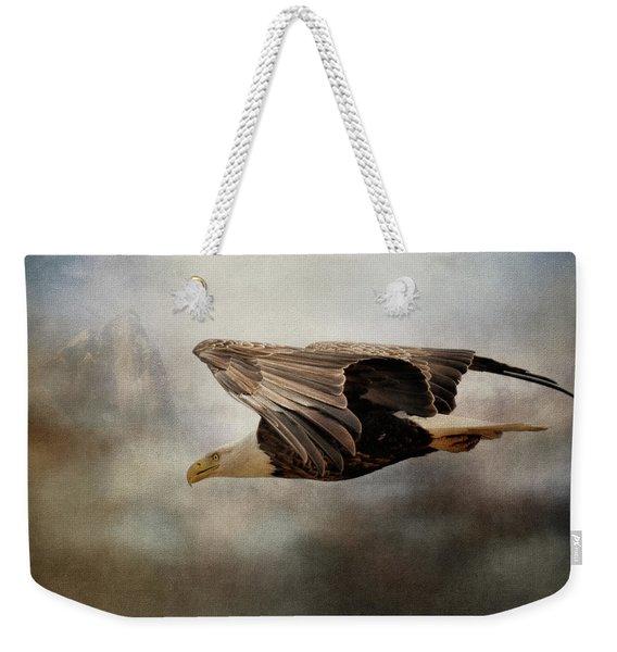 Peace Seeker Weekender Tote Bag