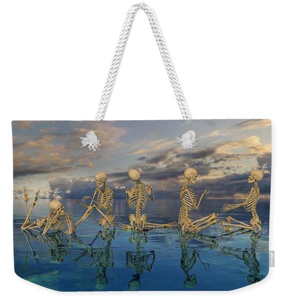 Peaceable Symphony   Weekender Tote Bag