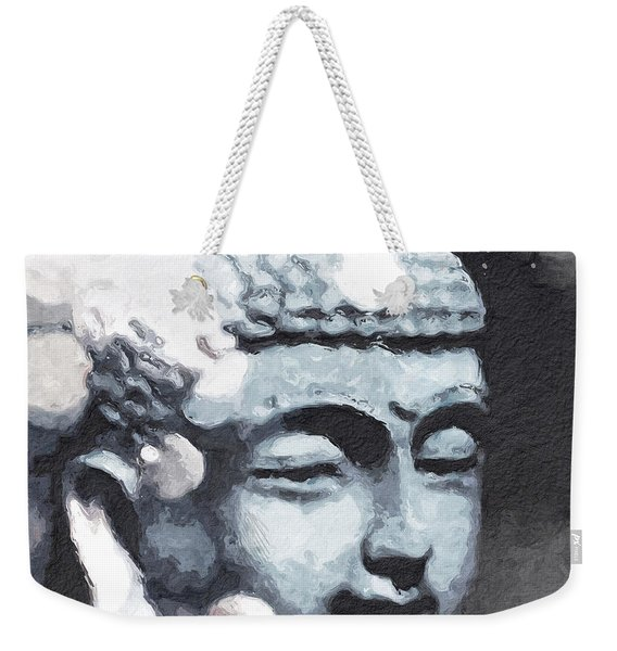 Peaceful Buddha 3- Art By Linda Woods Weekender Tote Bag