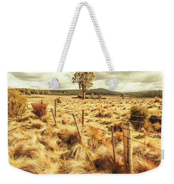 Peaceful Country Plains Weekender Tote Bag
