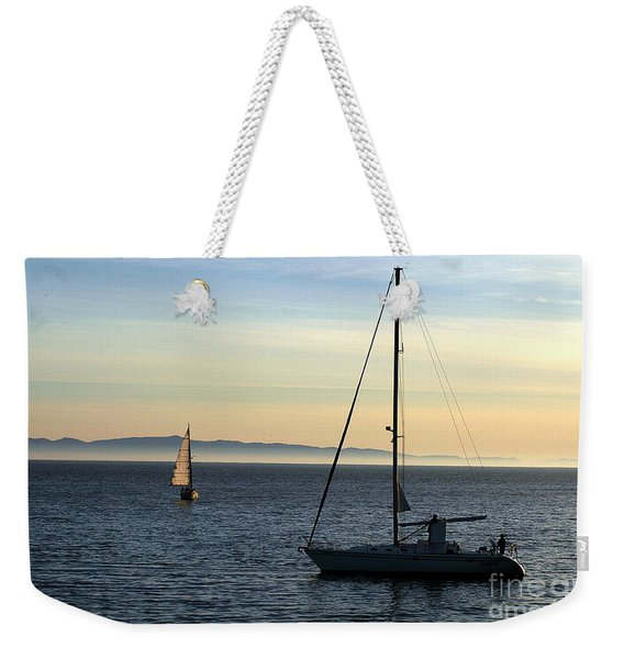 Peaceful Day In Santa Barbara Weekender Tote Bag