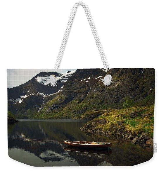 Peaceful Lofoten Weekender Tote Bag