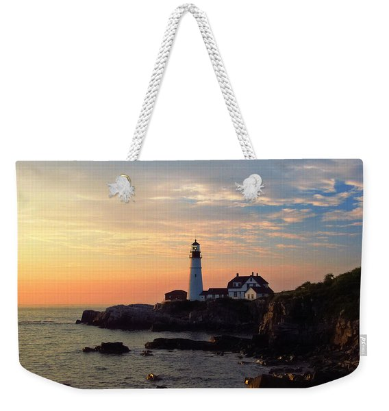 Peaceful Mornings Weekender Tote Bag