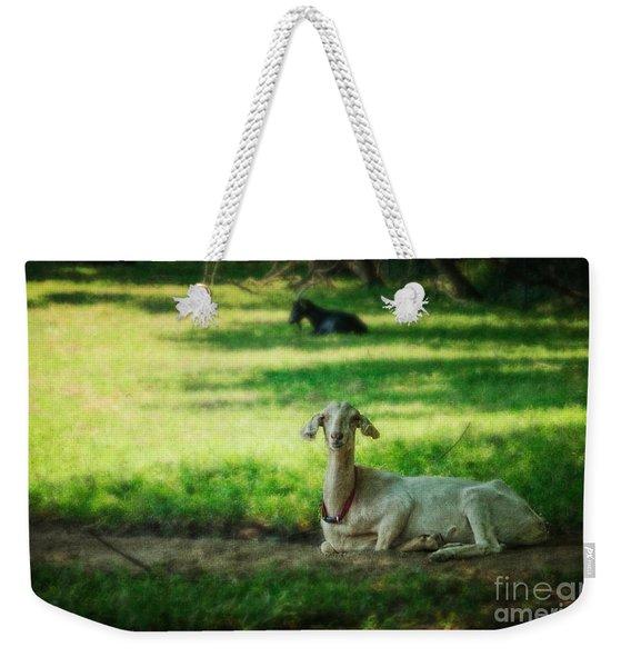 Peaceful Pasture Weekender Tote Bag