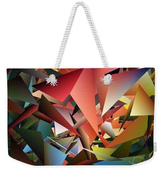 Peaceful Pieces Weekender Tote Bag
