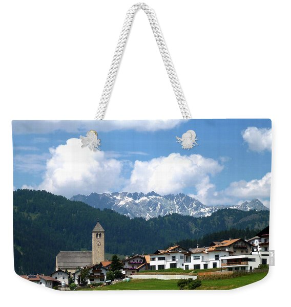Peaceful Village Weekender Tote Bag