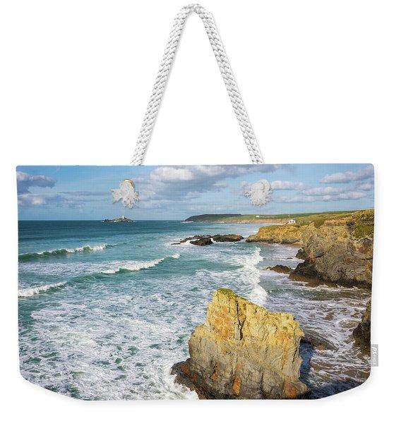 Peaceful Waves Weekender Tote Bag