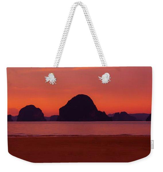 Peaceful Work Enviroment Weekender Tote Bag
