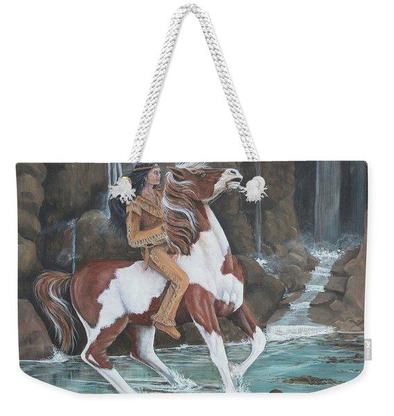 Peacemaker's Ride Weekender Tote Bag