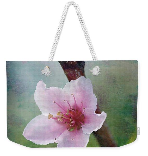 Peach Blossom 2 Weekender Tote Bag