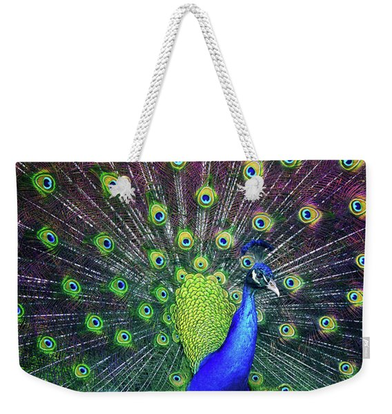 Peacock Series 9801 Weekender Tote Bag