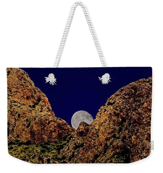 Peak Full Moon H03 Weekender Tote Bag