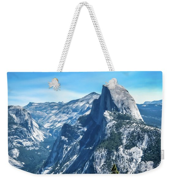 Peak Of Half Dome- Weekender Tote Bag