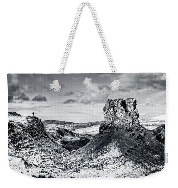 Peak Of Imagination Weekender Tote Bag
