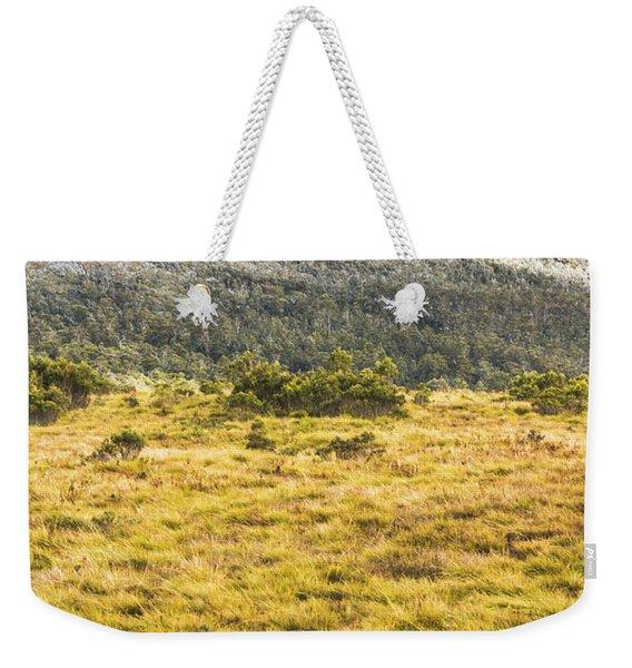 Peaks And Plateaus Weekender Tote Bag