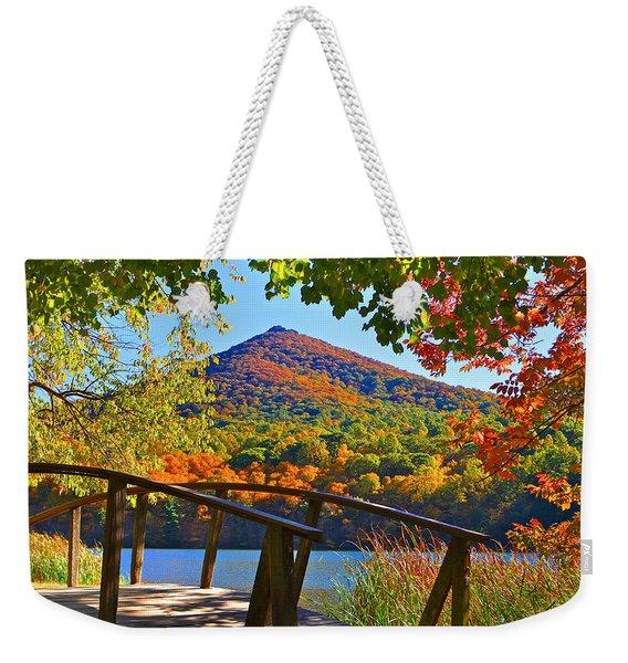 Peaks Of Otter Bridge Weekender Tote Bag