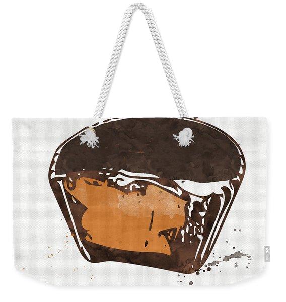 Peanut Butter Cup Weekender Tote Bag