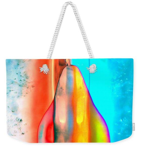 Pear On Ice 02 Weekender Tote Bag