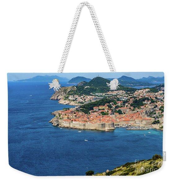 Pearl Of The Adriatic, Dubrovnik, Known As Kings Landing In Game Of Thrones, Dubrovnik, Croatia Weekender Tote Bag