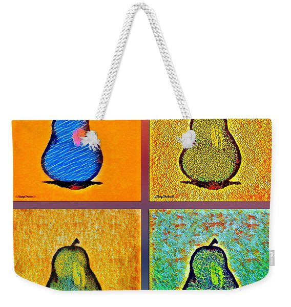 Pears And More Pears Weekender Tote Bag
