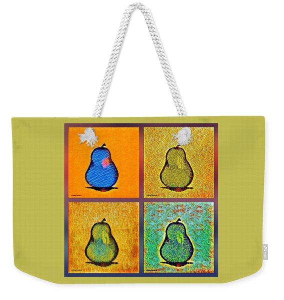 Pears And More Pears Weekender Tote Bag
