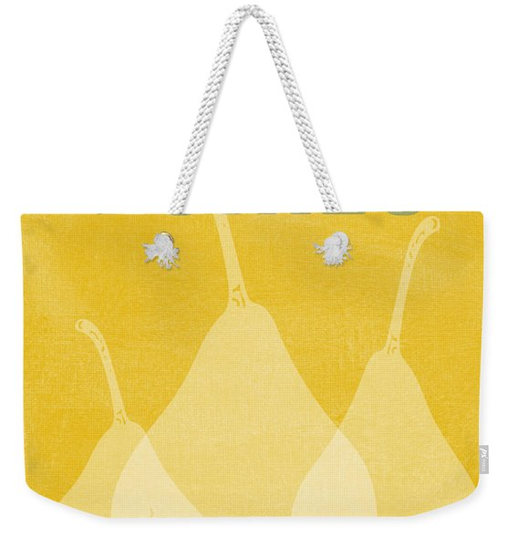 Pears- Art By Linda Woods Weekender Tote Bag