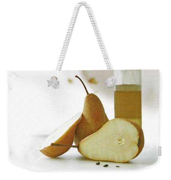 Pears Blossom Weekender Tote Bag