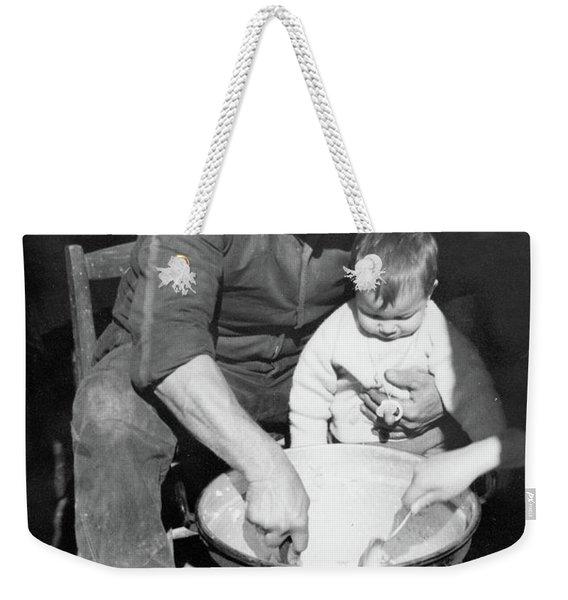 Peasant Life Weekender Tote Bag