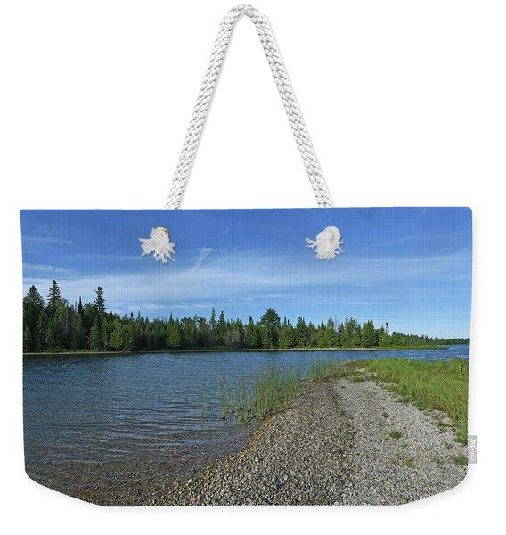 Pebble Beach At Twin Lakes Weekender Tote Bag