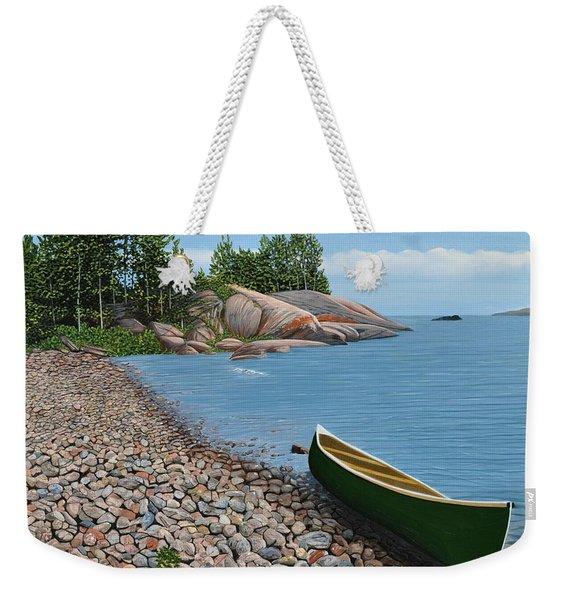 Pebble Beach Weekender Tote Bag