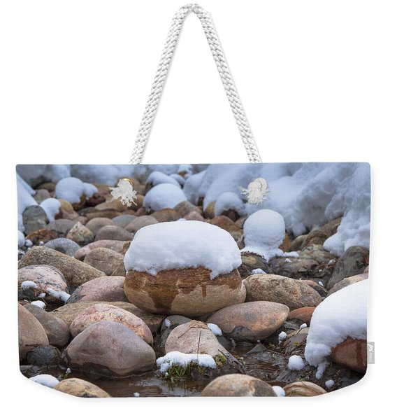 Pebble Creek Weekender Tote Bag