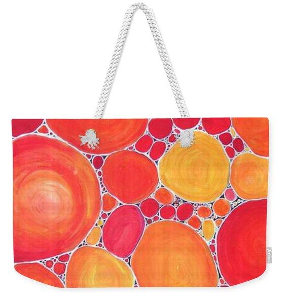 Pebbles At Sunset  Weekender Tote Bag