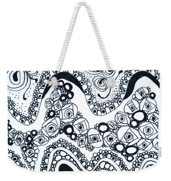 Pebbles Weekender Tote Bag