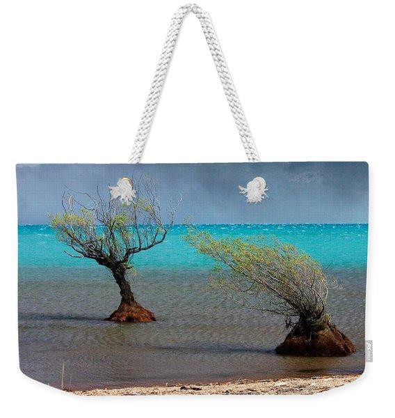 Peculiar Trees Weekender Tote Bag