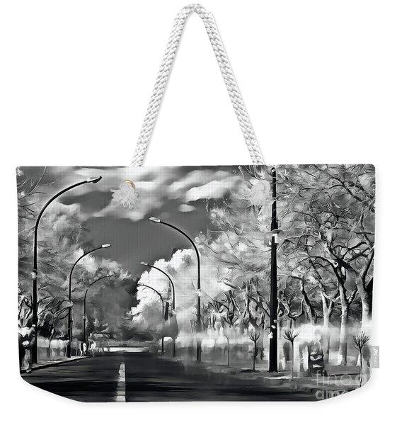 Pedestrian People On The Street Weekender Tote Bag