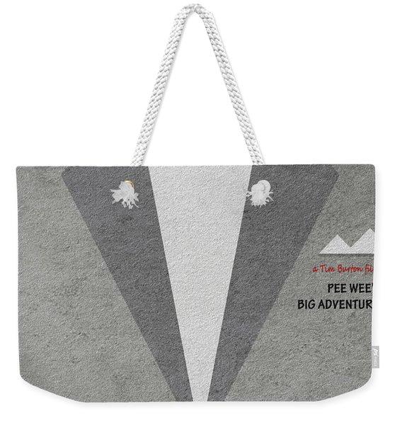 Pee-wee's Big Adventure Weekender Tote Bag