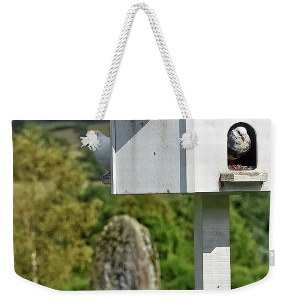 Peek-a-doo Weekender Tote Bag