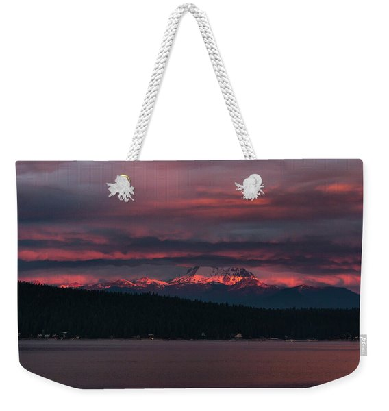 Peekaboo Sunrise Weekender Tote Bag