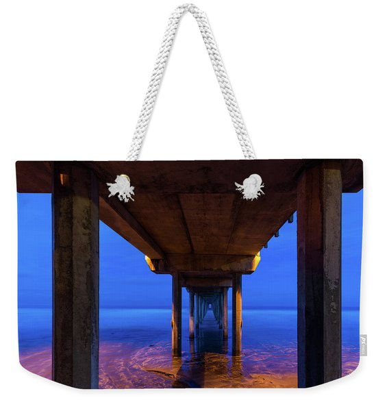 Peer Underneath Weekender Tote Bag