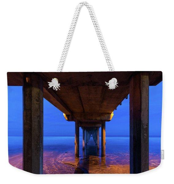 Peer Underneath Weekender Tote Bag