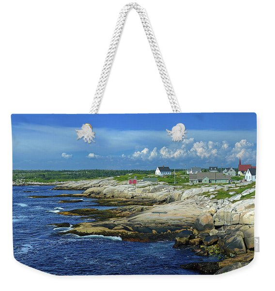 Peggy's Cove Weekender Tote Bag