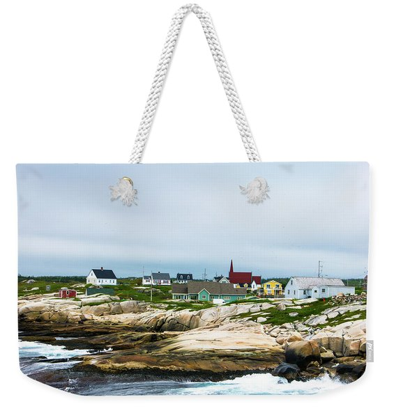 Peggy's Cove Shoreline Weekender Tote Bag