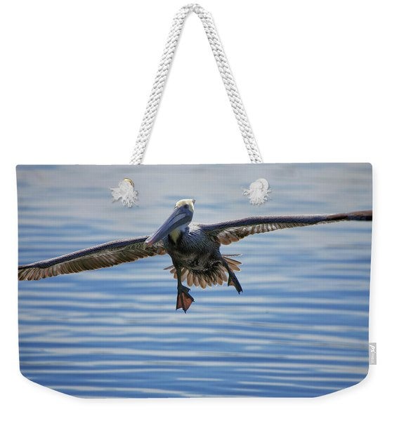 Pelican On Approach Weekender Tote Bag